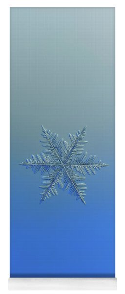 Snowflake Photo - Winter Is Coming Yoga Mat