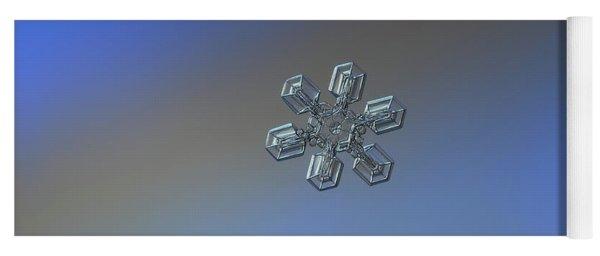 Snowflake Photo - High Voltage Yoga Mat