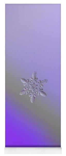 Snowflake Photo - Heart-powered Star Yoga Mat