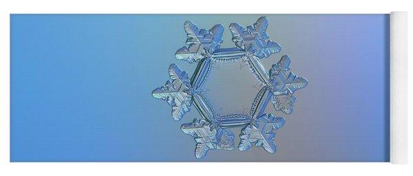 Snowflake Photo - Sunflower Yoga Mat