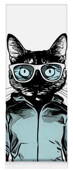 Cool Cat Yoga Mat