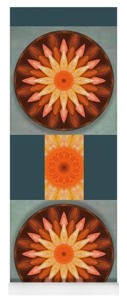 Pumpkin Mandala -  Yoga Mat