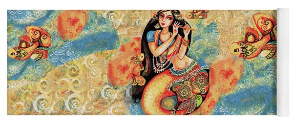 Aanandinii And The Fishes Yoga Mat