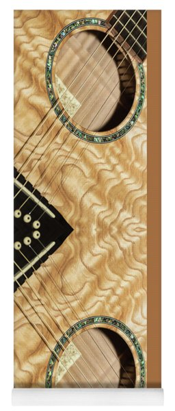 Pretty Guitar - Yoga Mat