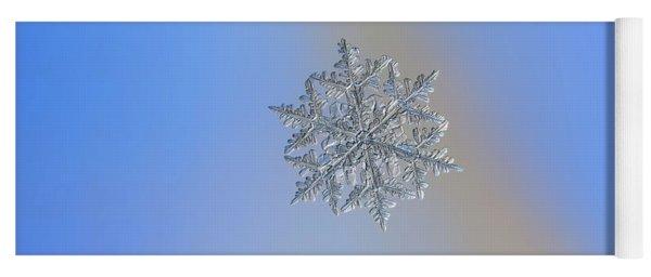 Snowflake Macro Photo - 13 February 2017 - 3 Yoga Mat