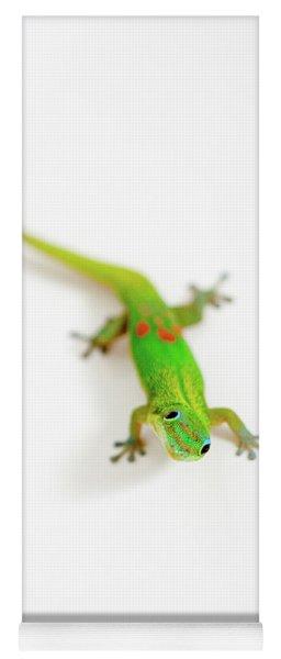 Green Gecko Yoga Mat