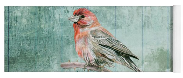 House Finch Yoga Mat