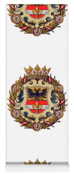 Coat Of Arms Of Triest Yoga Mat