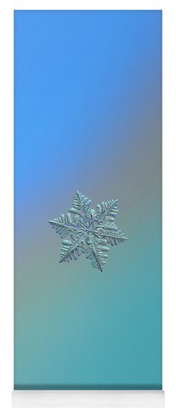 Snowflake Macro Photo - 13 February 2017 - 5 Alt Yoga Mat