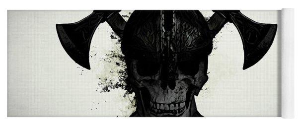 Viking Skull Yoga Mat