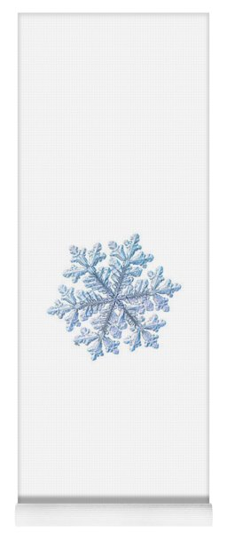Real Snowflake - Hyperion White Yoga Mat