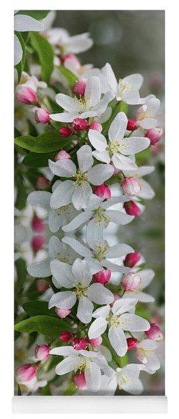 Crabapple Blossoms 12 - Yoga Mat