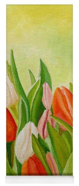 Colors Of Spring Yoga Mat