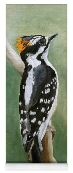 Downy Woodpecker Yoga Mat