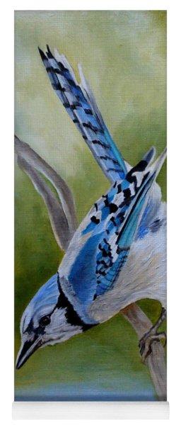 Aerialist Blue Jay Yoga Mat