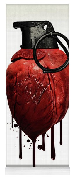 Heart Grenade Yoga Mat