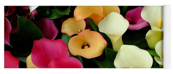 Arum Lilies Yoga Mat