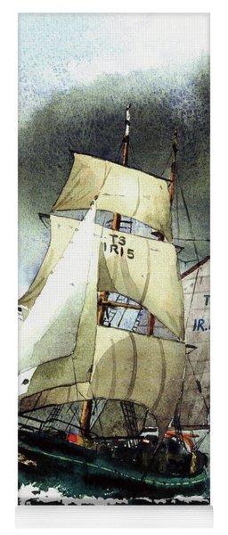 F  758  Asgard 11 Often Sailed Along The Wild Atlantic Way Yoga Mat