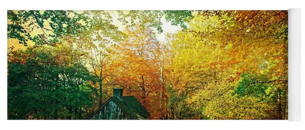Ashridge Autumn Yoga Mat
