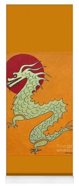 Asian Dragon Icon No. 1 Yoga Mat