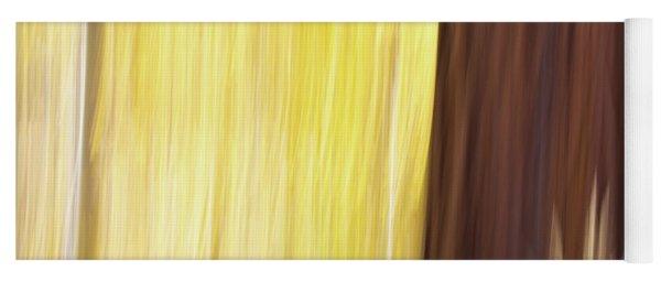 Aspen Blur #3 Yoga Mat