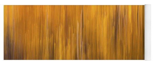 Aspen Blur #5 Yoga Mat