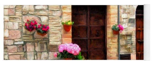 Assisi Doorways Yoga Mat