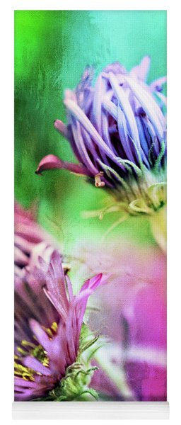 Asters Gone Wild 2 Yoga Mat