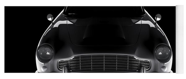 Aston Martin Db5 - Front View Yoga Mat