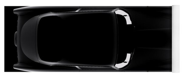 Aston Martin Db5 - Top View Yoga Mat