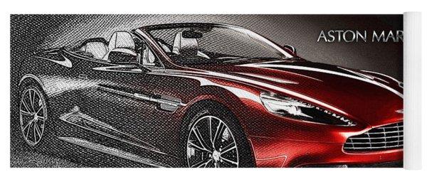 Aston Martin Vanquish Volante  Yoga Mat