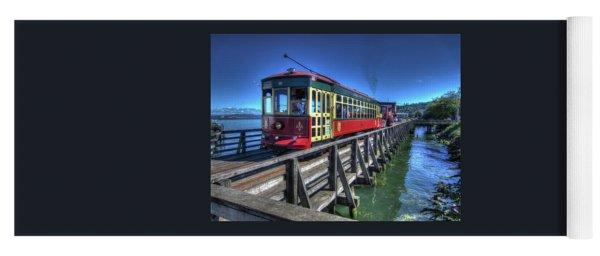Astoria Riverfront Trolley Yoga Mat