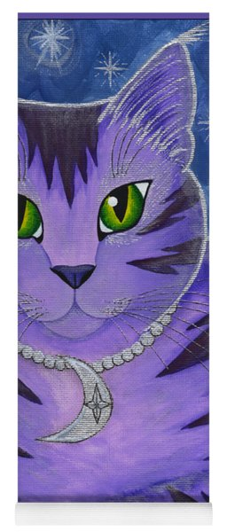 Astra Celestial Moon Cat Yoga Mat
