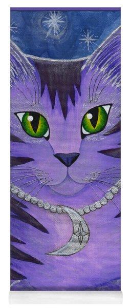 Astra Celestial Moon Cat Yoga Mat