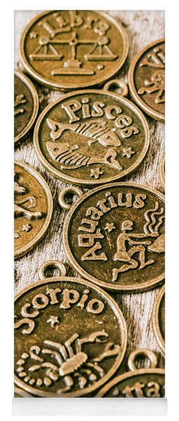 Astrology Charms Yoga Mat