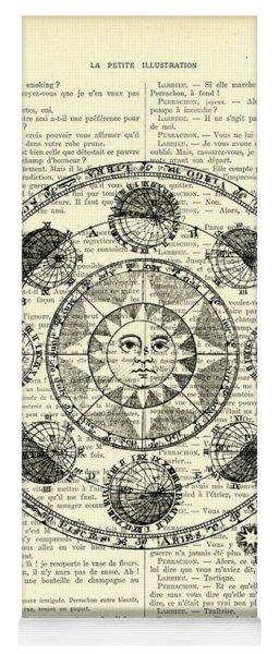 Astrology Chart, Solar System Yoga Mat