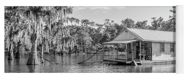 Atchafalaya Basin Fishing Camp Yoga Mat