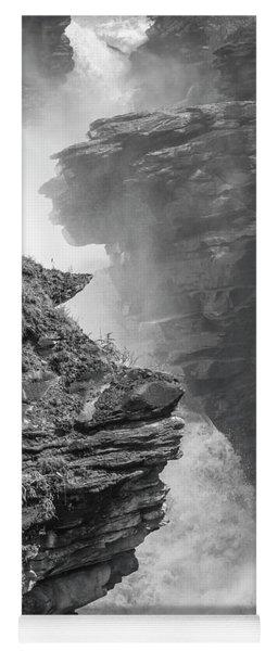 Athabasca Falls Yoga Mat