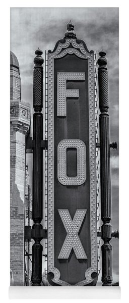 Atlanta - Fox Theatre Sign #1 Yoga Mat