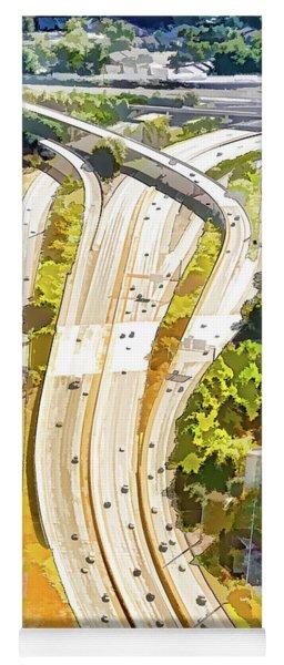 Atlanta Highways Yoga Mat