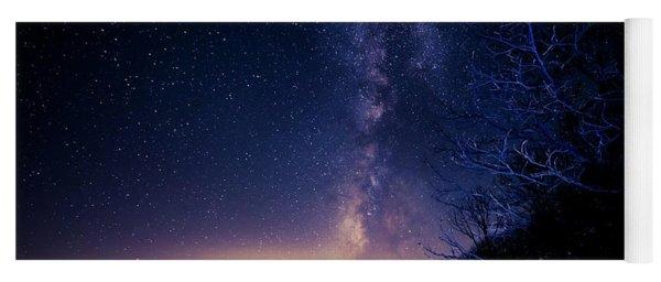 Atlanta Lights Under The Milky Way Yoga Mat