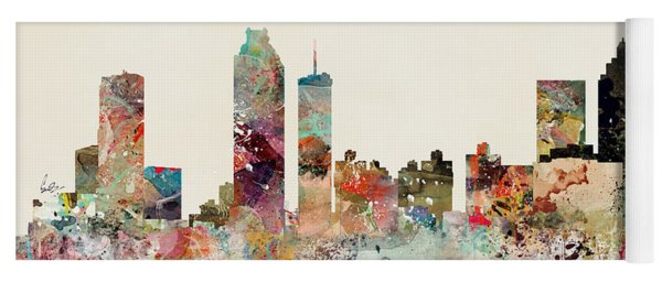 Atlanta Skyline Yoga Mat