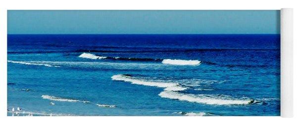 Atlantic Ocean Yoga Mat