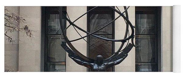 Atlas Statue Yoga Mat
