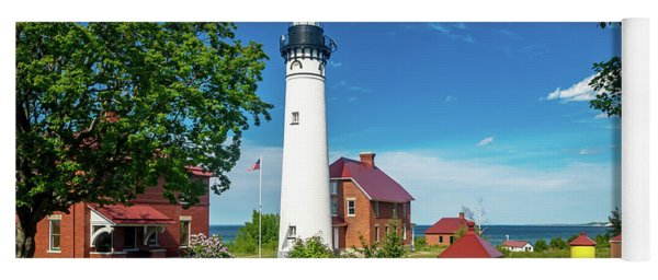 Au Sable Lighthouse  Yoga Mat