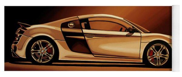 Audi R8 2007 Painting Yoga Mat