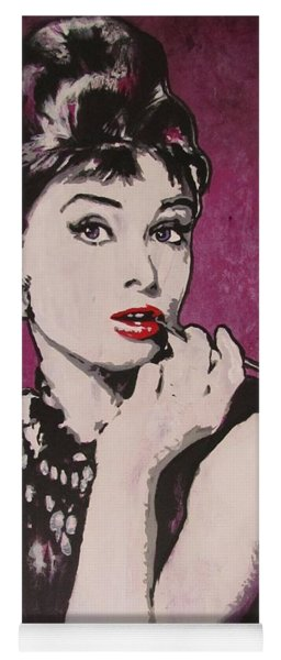 Audrey Hepburn - Breakfast Yoga Mat