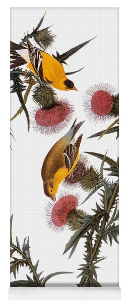 Goldfinch Yoga Mat