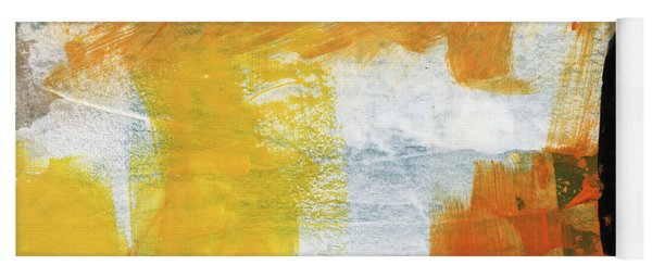 August- Abstract Art By Linda Woods. Yoga Mat