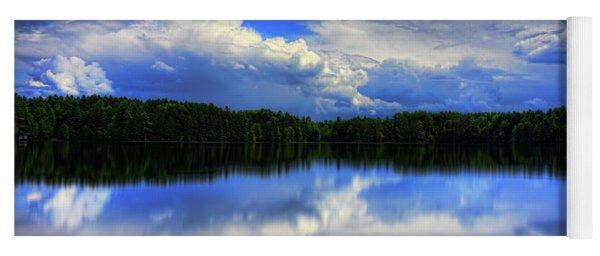 August Summertime On Buck Lake Yoga Mat